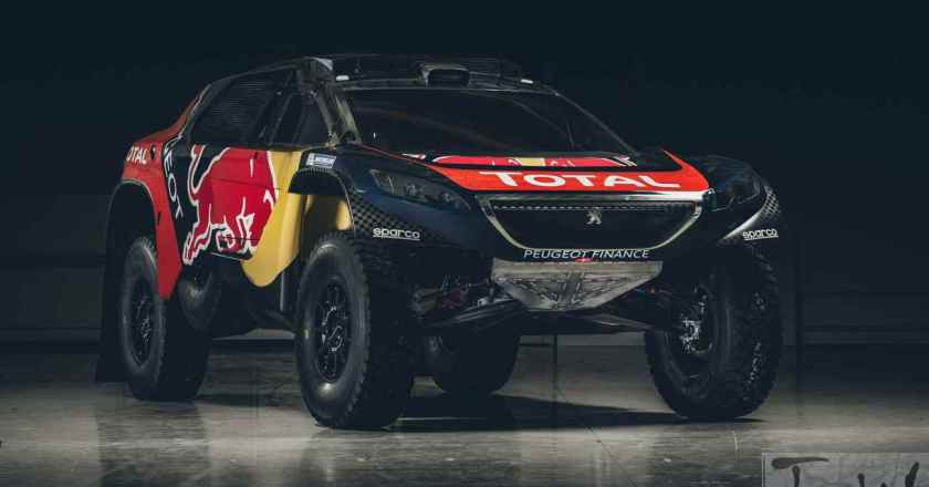 PEUGEOT 2008DKR reveals its Dakar racing colours