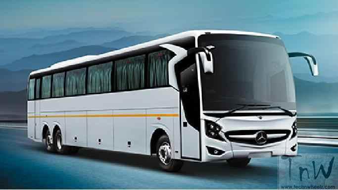 Daimler India launches Mercedes-Benz Super High Deck SHD 2436 Coach