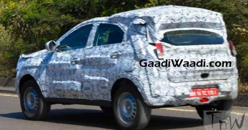 Tata X104 (Nexon/Osprey) spied on test. 2016 Delhi Auto Expo unveil