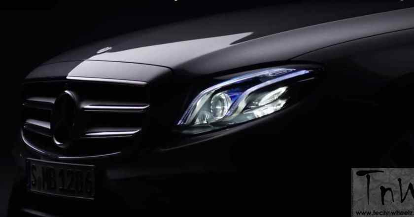 Mercedes-Benz teases 2016 E-Class. Official sketch and teaser video out