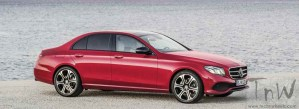 2016 Mercedes-Benz E Class leaked. NAIAS Detroit debut