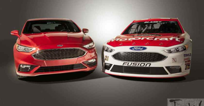 2016 Detroit: Facelifted Ford Fusion in NASCAR avatar
