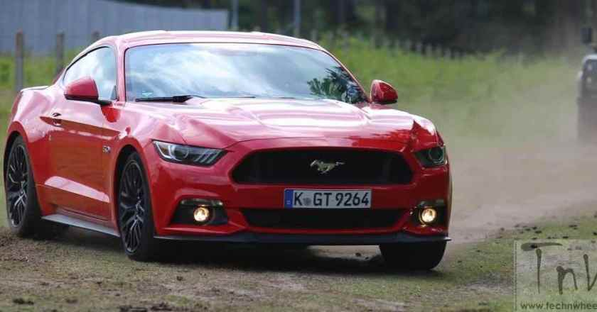 Ford unveils sixth gen Mustang GT in India. Auto Expo showcase