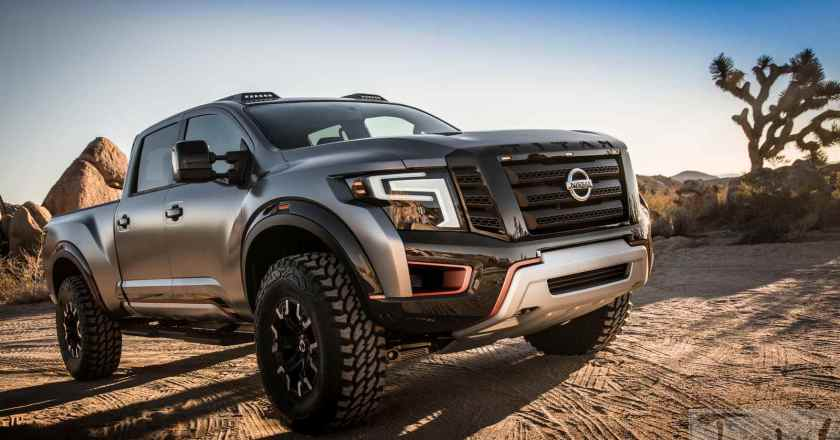 2016 Detroit: The beefy Nissan Titan Warrior