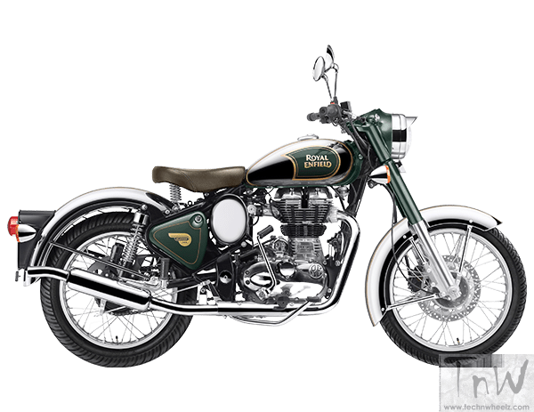Royal Enfield Classic-Chrome-green