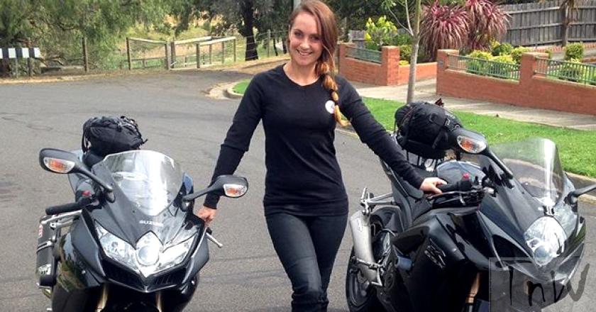 World Women Riders: Sera Williamson from Melbourne, Australia
