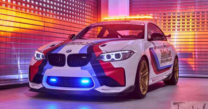 BMW M2 MotoGP Safety Car for 2016 season revealed