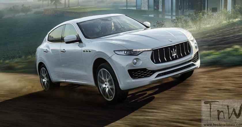 Image Gallery: Maserati Levante at 2016 Geneva Motor Show
