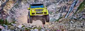 Mercedes-Benz G500 4×4² Squared detailed in images
