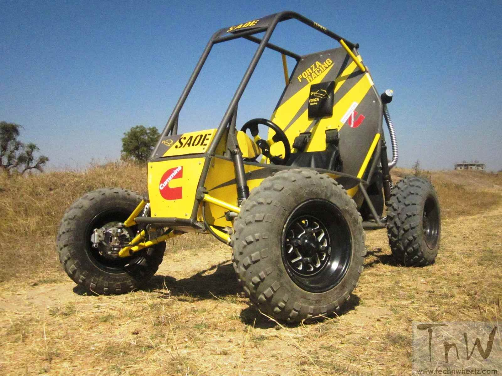 Project BAJA by Sinhgad Academy of Engineering (SAOE) reviewed