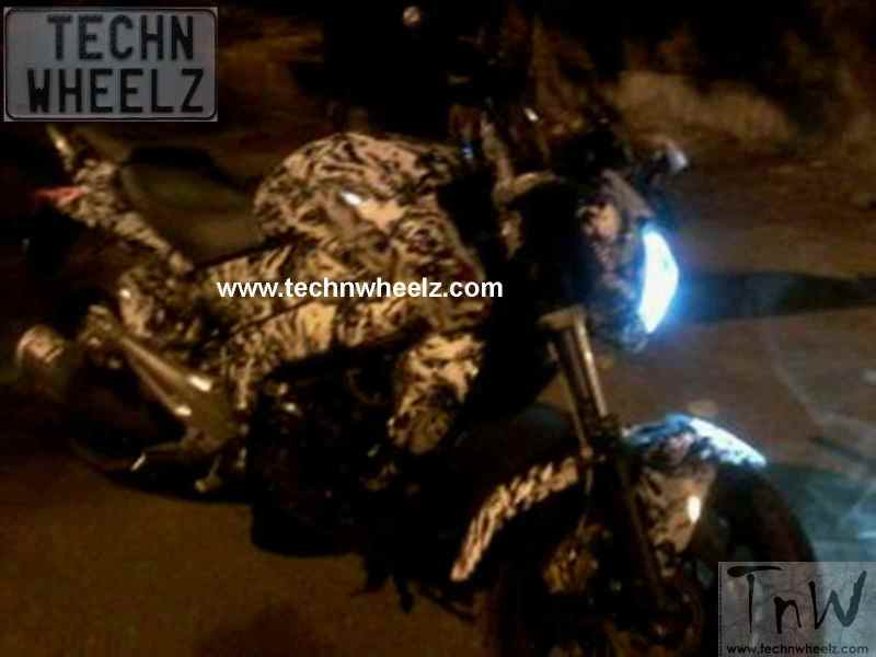 Exclusive Scoop !! Bajaj Pulsar CS400/CS200 spotted heavily camouflaged