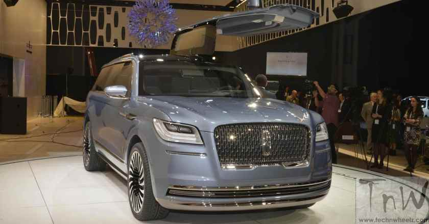 Images: Lincoln Navigator Concept