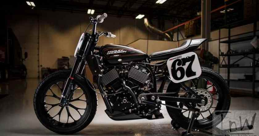Harley Davidson unveils the New Gen, Liquid-Cooled XG750R Flat Track Bike