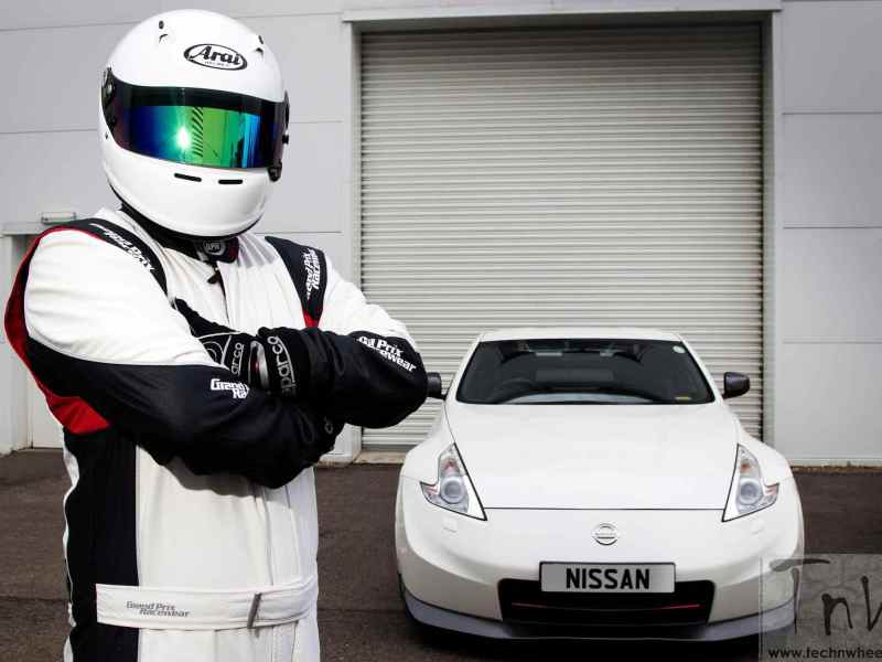 Helmet comes off the secret STIG !!