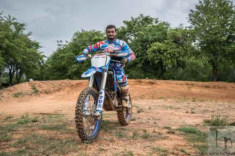 Aravind KP to compete for TVS Racing at Dakar Rally 2017