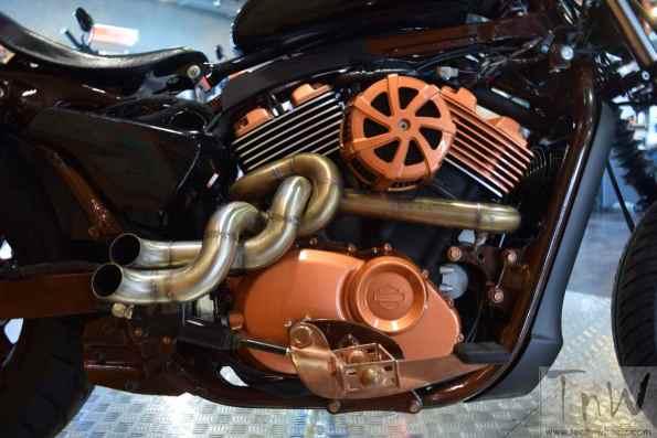 Image Gallery: Twisted Mayhem- Street 750 based custom bike