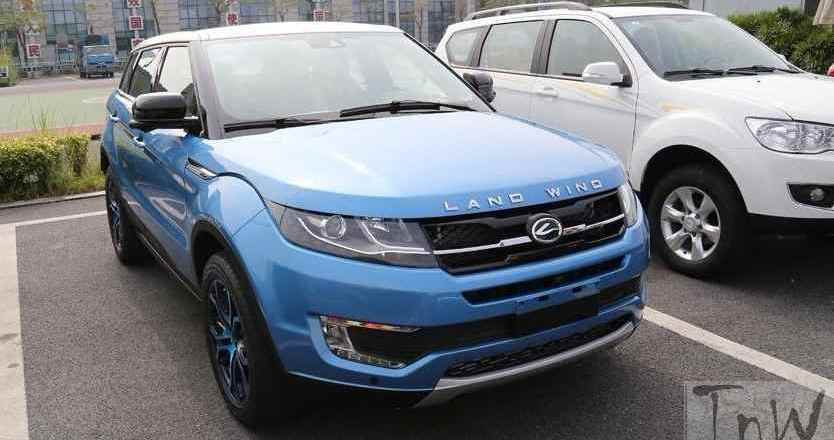 Jiangling Land Wind X7, Evoque clone, to land in trouble