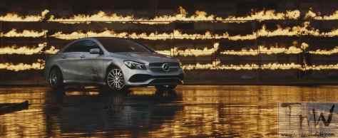 Mercedes-Benz fashion film Burning Desire with rebellious CLA