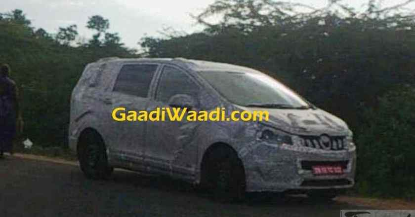 Mahindra U321 / TUV500 MPV to take on Innova Crysta and Hexa