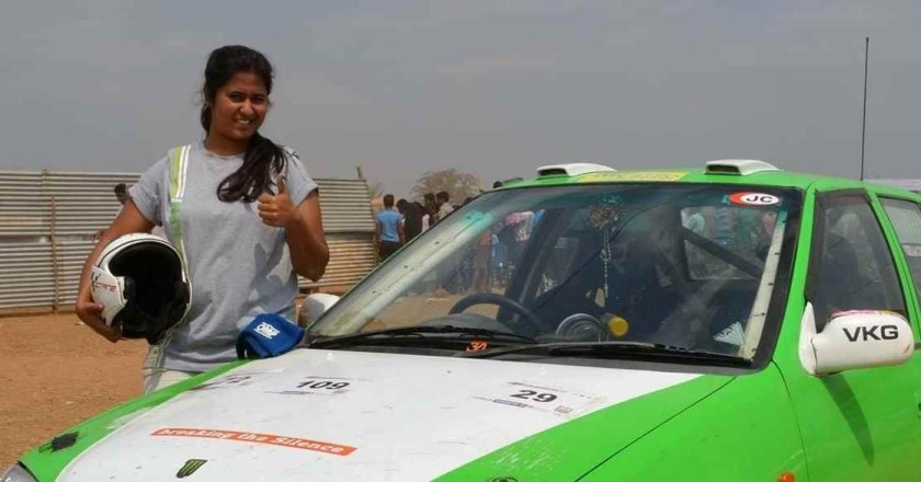 Interview with Ashika Menezes- Rally driver from Bengaluru