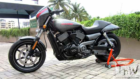 SR750 Café: Harley-Davidson Street 750 based custom build