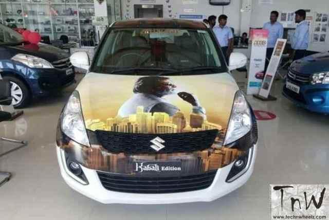 'Kabali' edition Suzuki Swift Credits to respective owners