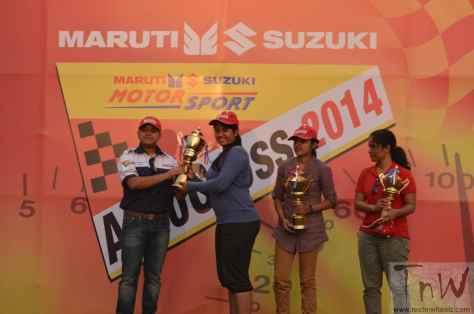Maruti Suzuki Autocross 2014_Stage Ceremony