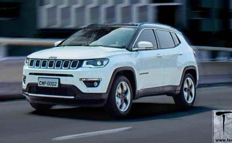 2017 Jeep Compass unveiled. India launch October 2017