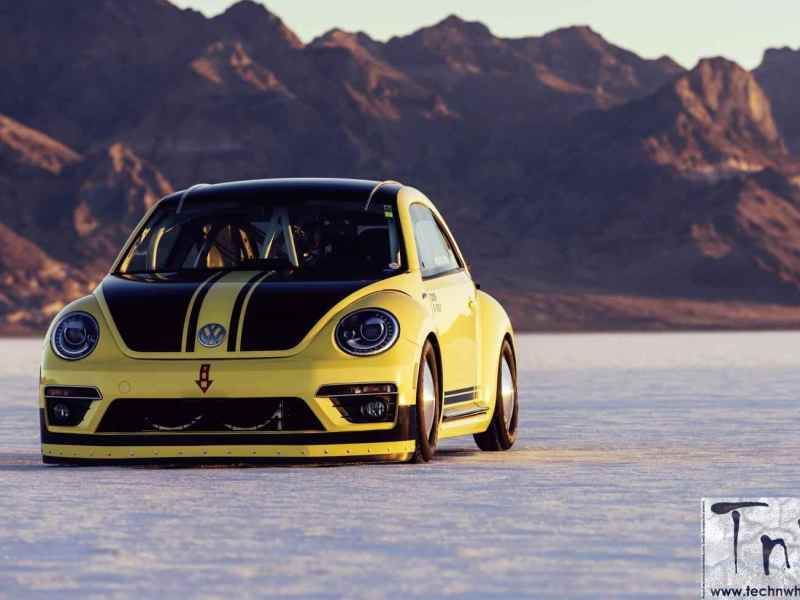 Volkswagen Beetle LSR hits 328kmph. Sets new speed record