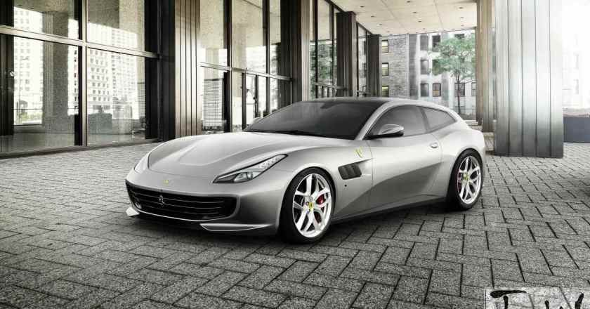 Paris Motor Show: Ferrari GTC4Lusso T revealed. Paris showcase