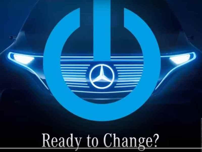 Paris Motor Show: Mercedes-Benz ready for a change. Teases EV