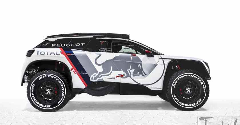 Video: PEUGEOT 3008 DKR ready for the 2017 Dakar Rally