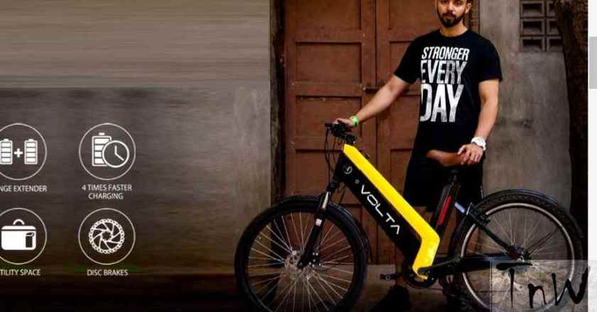 Volta ZAP – India's first Cross Over Electric Bike