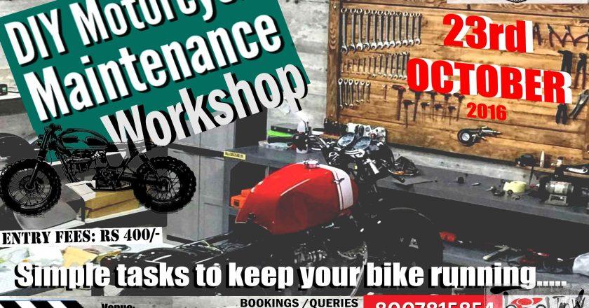 DIY Motorcycle Maintenance and Repair Workshop, Pune