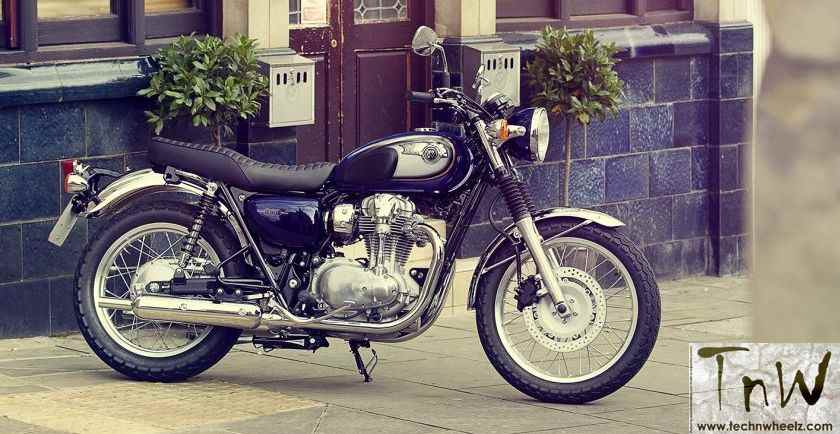 Kawasaki W800 BS6 gets price cut of INR 1 lakh