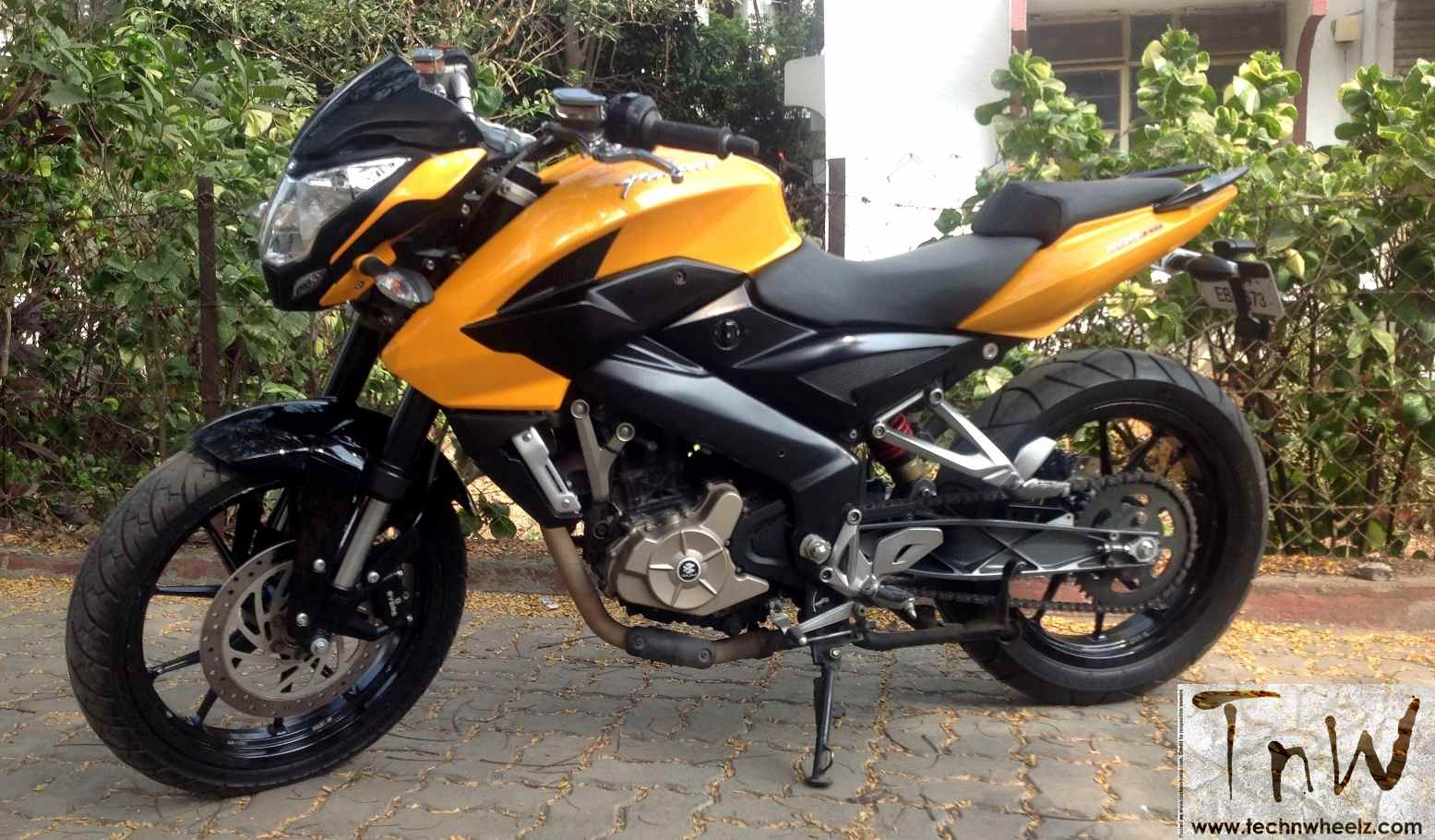 Pulsar Bike 200 Modified