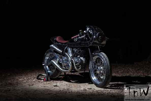 Custom Ducati Scramblers at Motor Bike Expo in Verona, Italy