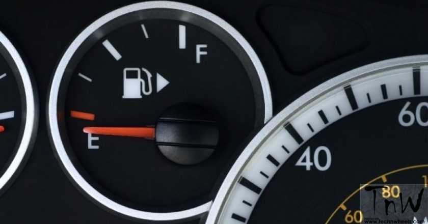 The mystery of tiny arrow next to fuel pump icon explained