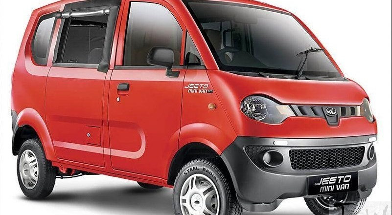 Mahindra launches Jeeto Minivan. Available in diesel, petrol and CNG engine options