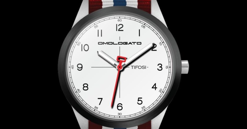 Omologato unveils #TIFOSI watches with motorsport design theme