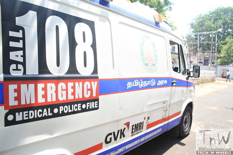 Ambulance stopped by TN cop for Chief Minister's convoy