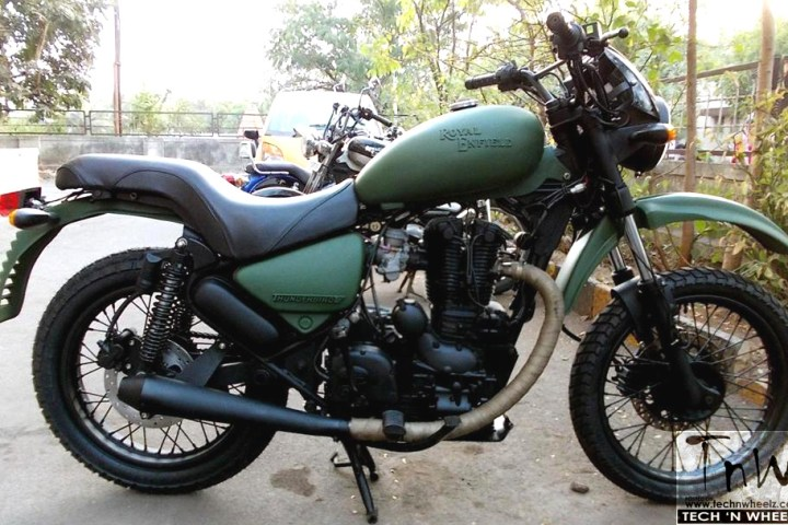 Royal Enfield Thunderbird 350 based Concept Yeti by Westland Customs (India)