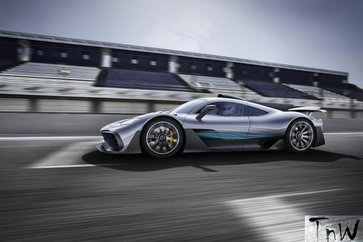 2017 Frankfurt Motor Show: Mercedes-AMG Project ONE
