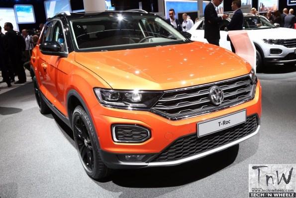 2017 Frankfurt Motor Show : Volkswagen T Roc & T-Roc R Line