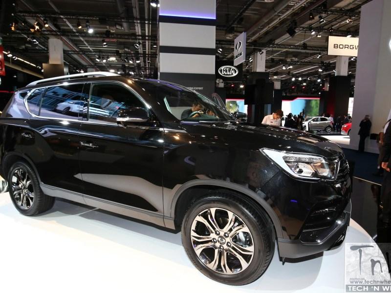2017 Frankfurt Motor Show: SsangYong Rexton
