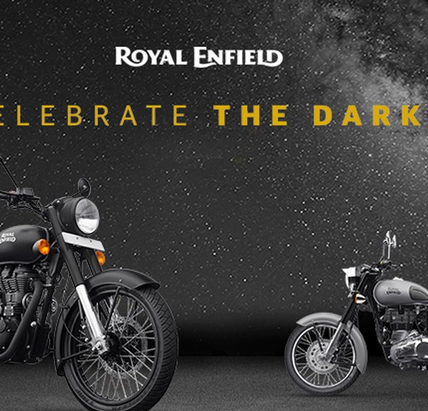 Royal Enfield Classic 500 Stealth Black & Classic 350 Gunmetal Grey