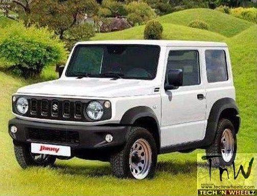 2018 Suzuki Jimny – Maruti Suzuki Gypsy replacement details leaked