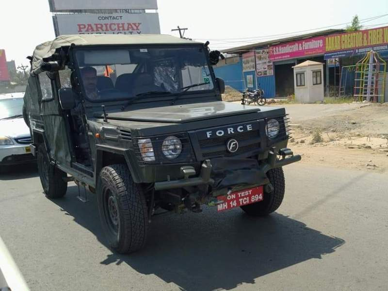 Force Gurkha LSV for Indian Army spotted testing