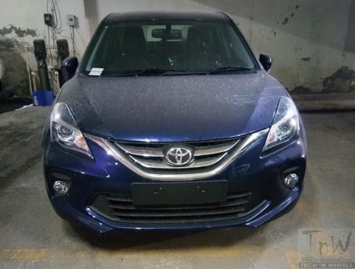 Toyota Glanza – rebadged Maruti Baleno spied before official launch