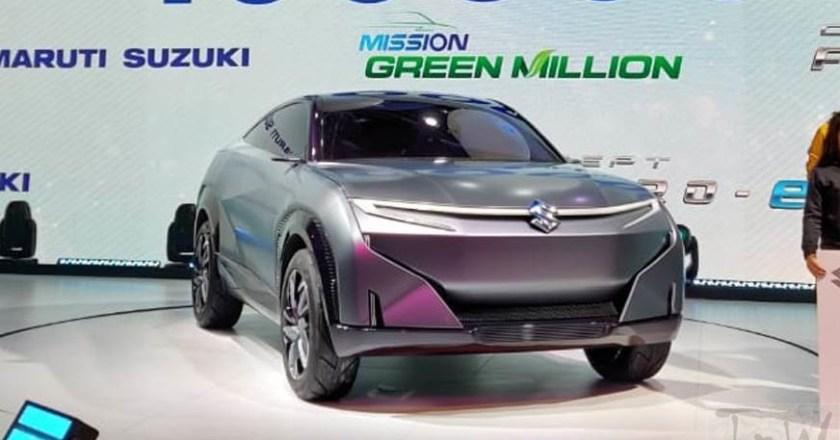Auto Expo 2020: Maruti Suzuki Futuro-e concept unveiled